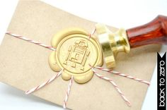 Star Wars R2-D2 wax seal