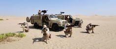 South Korean Fox long-range patrol vehicles (LRPV) in UAE [4992 x 2117]