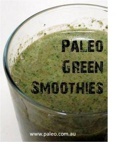 Paleo Diet Green Smoothies Recipe