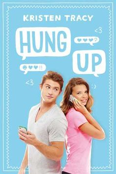 Hung Up by Kristen Tracy - light, clean romance - When a wrong number blossoms into a phone friendship for Lucy and James, two Vermont high school students, James wants to meet in person, but Lucy is strangely resistant. Told in the form of telephone calls and voice mail messages.