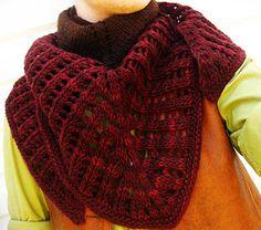 Colonnade shawl - Knitty: Fall 2009