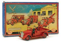 Tekno Tinplate Fire Engine…