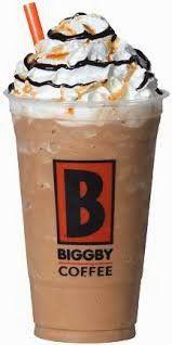 Biggby Coffee, Great Coffee, Beverages, Drinks, Love People, Mocha, Delish, Caramel, Frozen
