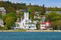 You may not think of Michigan when you think about an island vacation, but Mackinac Island is a great summer retreat.
