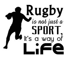 Free Rugby SVG Cutting File for the Cricut. Rugby League, Rugby Players, Rugby Wallpaper, Rugby Girls, Boys, Rugby Quotes, Ireland Rugby, Rugby Training, Rugby Sport