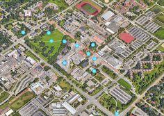 Virtual Campus Tour | UofG 360 | University of Guelph Theatre, City Photo, Thats Not My, University, Tours, Architecture, Arquitetura, Theatres, Architecture Design