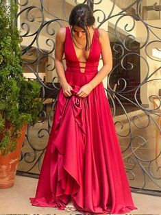 Simple+Elegant+Long+Evening+Dress,+Long+Prom+Dress,+Red+Prom+Dress,+2017+Prom+Dresses,Fashion+Prom+Dress,Sexy+Party+Dress,Custom+Made+Evening+Dress,Cheap+Prom+Dress    This+dress+could+be+custom+made,+there+are+no+extra+cost+to+do+custom+size+and+color.    Description+  1,+Processing+time:+20+bus...