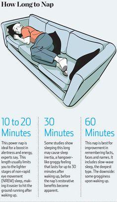 7 Ways to Take a Good Nap