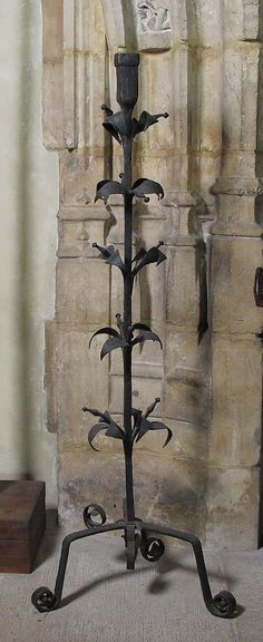 Iron Candelabra: late Medieval era - 14th or early 15th century