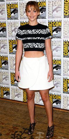 Look of the Day - July 22, 2013 - Jennifer Lawrence in Proenza Schouler