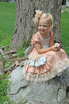 fairytale frocks and lollipops :: foofoo threads, jocelyn thurm, sugarplum… Childrens Sewing Patterns, Pdf Sewing Patterns, Sewing For Kids, Baby Sewing, Little Girl Dresses, Girls Dresses, Flower Girl Dresses, Little Girl Dress Patterns, Princess Dress Patterns