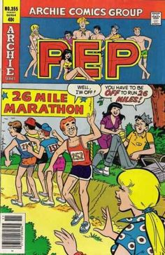 Pep Comics 355 - Archie - Betty - Veronica - Jughead - Marathon