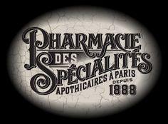 Designer/illustrator Daniel Pelavin, pharmacy logo