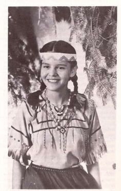 Gladys Chingman was chosen princess of Ottawa tribe in Harbor Springs, MI, 1947, 16 years old.