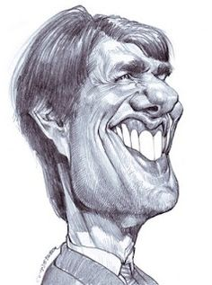 Artist:Jan Op De Beeck   Caricature:Tom Cruise