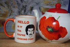 Hello is it tea you're looking for Lionel Richie by JannersMugs