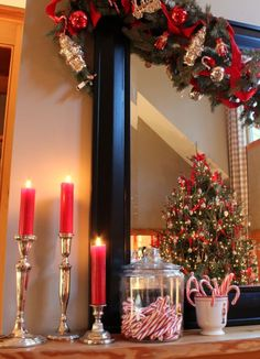 Christmas Favorites: Our Christmas Tree, Peppermint, and a Pottery Barn gift…