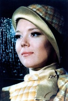 "Diana Rigg ""On her Majesty's Secret Service"" (1969)."