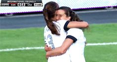 Because her hugs are probably the best hugs in the world. | 25 Reasons Why Alex Morgan Is The Perfect Lady