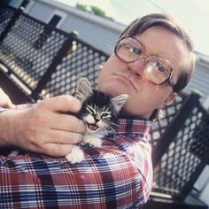 """""""I roll with my kitties and I'm hard as fuck!"""" #TrailerParkBoys #Bubbles"""