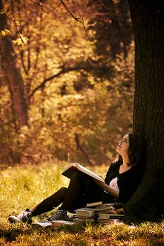 Trees and books ... leer aquí debe de ser increible