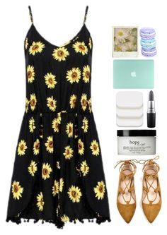 """"""" have a nice day """" by lanadelnotyou ❤ liked on Polyvore featuring philosophy, COVERGIRL and MAC Cosmetics"""