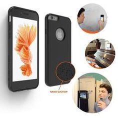 Amazing phone case that defies gravity, sticks to glass, tile, wood and metal. Awesome for group photos, selfies, facetiming, recording a video in the gym, etc, I love it!