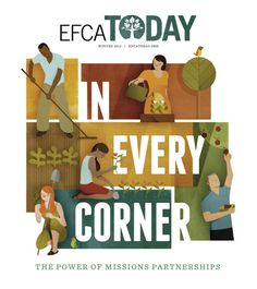 Cover and Spot illustrations by Andrew Lyons for EFCA Today magazine