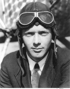 Charles Lindbergh (1902-1974) was an American pilot and the first man to fly solo across the Atlantic Ocean.Lindbergh's solo transatlantic flight in 1927 made him one of America's early celebrity heroes. He received a New York ticker-tape parade, and newspapers breathlessly covered his every move. I chose this photo because it shows his success as a pilot.