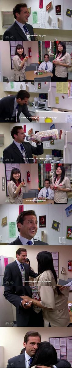 It is one of the funniest scenes from The Office