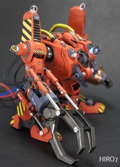 Custom Build: HG 1/144 Mobile Worker Late Type [Mash] 'Heavy Equipment' - Gundam…