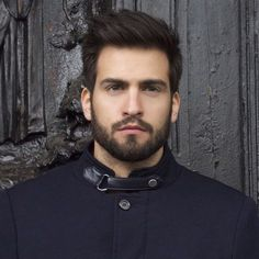 # fashion for men # men's style # men's fashion # men's wear # mode homme Mens Hairstyle Images, Cool Hairstyles For Men, Haircuts For Men, Easy Hairstyles, Handsome Bearded Men, Handsome Faces, Hair And Beard Styles, Short Hair Styles, Beard Model
