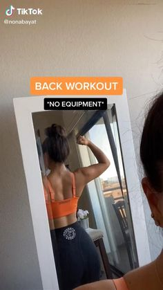 Fitness Workouts, Gym Workout Videos, Gym Workout For Beginners, Fitness Workout For Women, Easy Workouts, Fitness Goals, Fitness Motivation, Back Workout Women, Gym Fitness