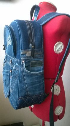 Лучших изображений доски «Denim backpack   bag»  537   Backpack bags ... d69cf86c5e6