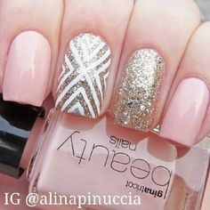 trendy pink nail designs for 2014