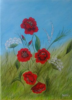 Created by: Szöllős Éva - 30x40 cm canvas, acrylic