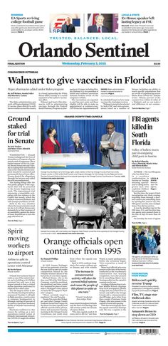 Orlando Sentinel College Football Games, New York Post, Florida, The Florida