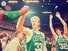 LARRY BIRD: The only player in history to average 15-15-7-2 in a NBA Finals series. #NbaHistory