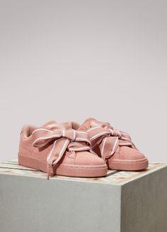 166acde23146 99 Best Puma Suede Heart Satin II images | Discount sneakers ...