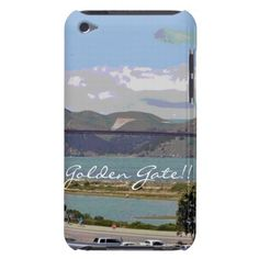 Golden gate!! (eliso) Case-Mate iPod touch protectores