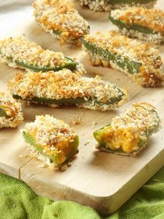 Vegan Jalapeno Poppers with Sweet Potato Cheese