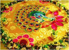 Best Peacock Rangoli Designs – Our Top 10