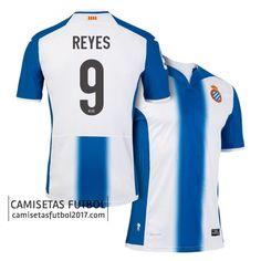 Primera camiseta REYES del RCD Espanyol 2016 2017 Camiseta RCD Espanyol 2018   3bf82b706a190