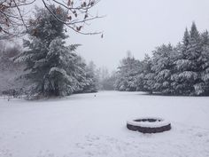 A hefty batch of snow coats the Eagle River area and Danielle C. caught the whiteout.