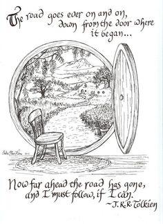 De weg - Tolkien