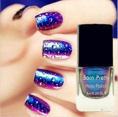 Born Pretty Chameleon Nail Polish Varnish 6ml (Black Base Color Needed) #217 in Health & Beauty, Nail Care, Manicure & Pedicure, Nail Polish   eBay