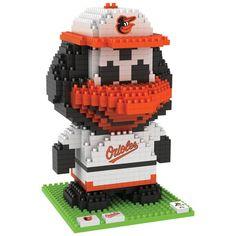 Baltimore Orioles Oriole Bird Mascot BRXLZ Puzzle