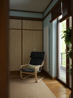 """Picture from """"Nihon no Kanji"""" - project by interiordelight. A Japanese inspired home Nihon, Design Projects, Japanese, Interior Design, Inspired, Room, Furniture, Home Decor, Nest Design"""
