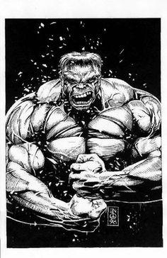The Incredible Hulk by Eddie Newell