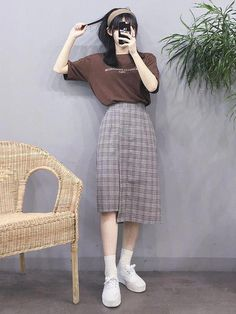 Best korea fashion clothing koreafashionclothing new latest korean fashion! Korean Fashion Trends, Korean Street Fashion, Korea Fashion, Asian Fashion, Modest Fashion, Girl Fashion, Fashion Looks, Fashion Outfits, 80s Fashion